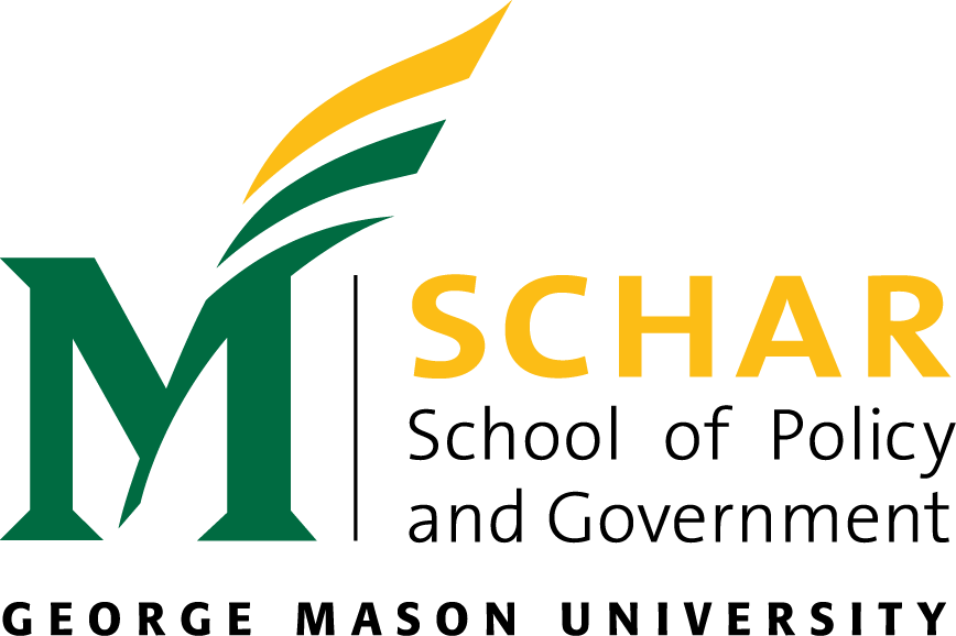 Logo of George Mason University - Schar School of Policy and Government