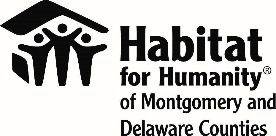 Logo of Habitat for Humanity Montgomery and Delaware Counties