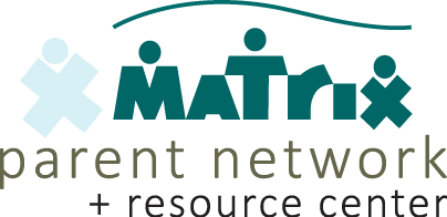 Logo of Matrix Parent Network and Resource Center