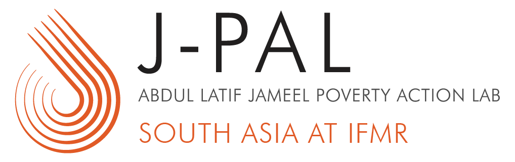 Logo of Abdul Latif Jameel Poverty Action Lab, South Asia