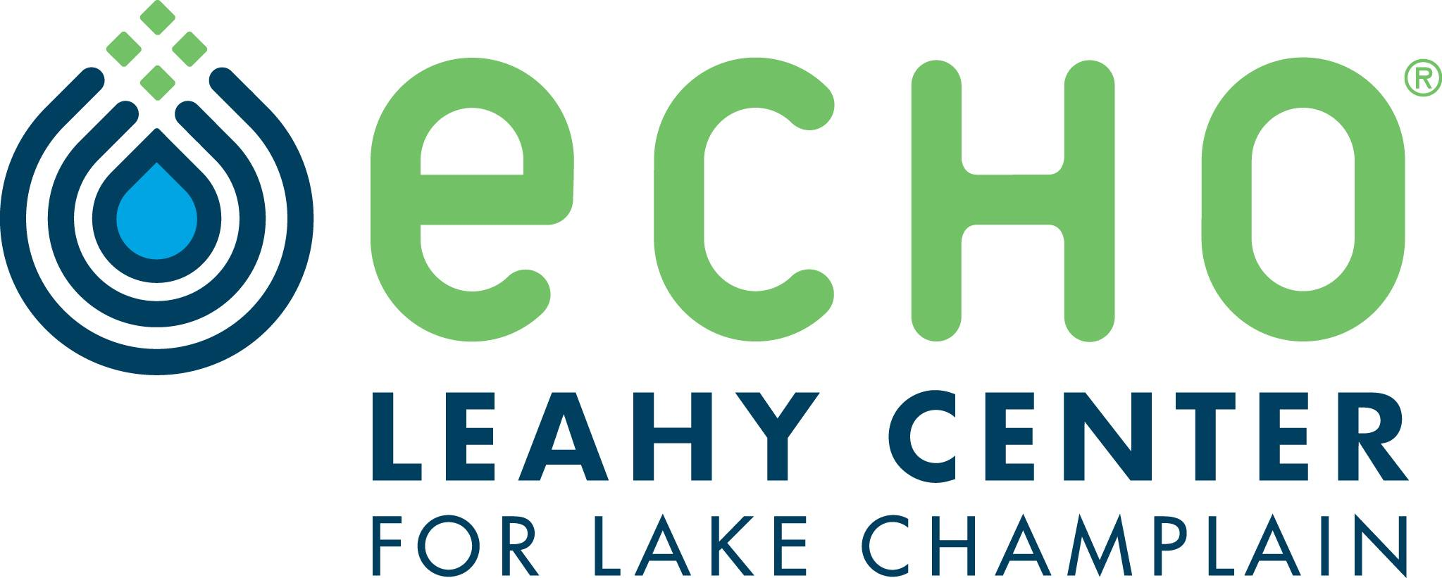 Logo of ECHO, Leahy Center for Lake Champlain