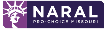 Logo of NARAL Pro-Choice Missouri