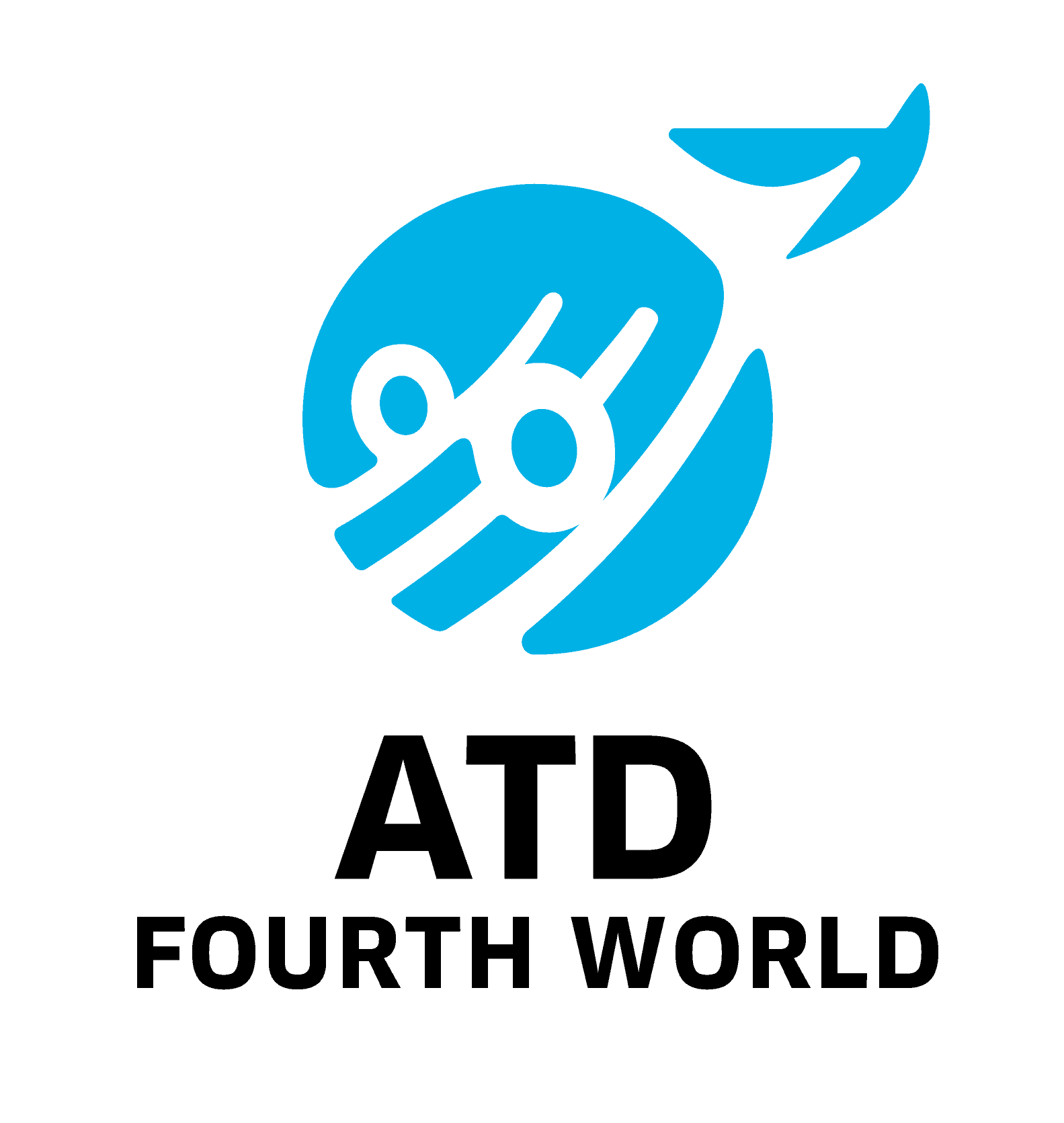 Logo de ATD Fourth World - All Together in Dignity