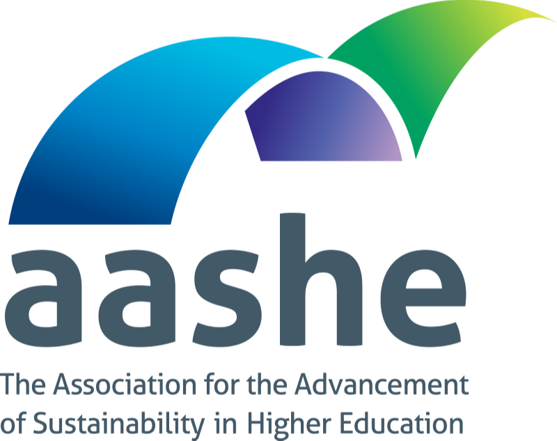 Logo of Association for the Advancement of Sustainability in Higher Education (AASHE)