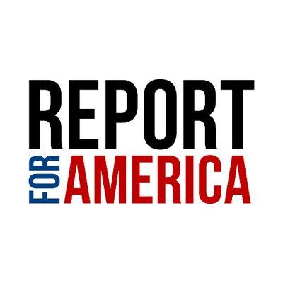 Logo of Report for America