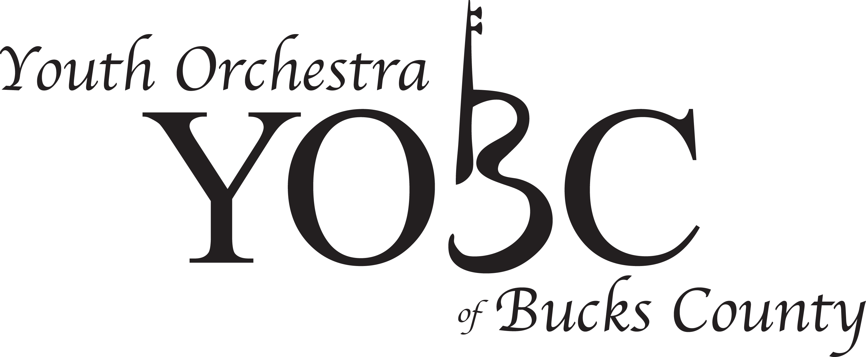 Logo of Youth Orchestra of Bucks County