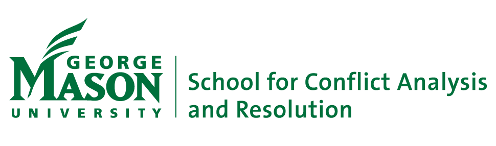 Logo of The School for Conflict Analysis and Resolution at George Mason University