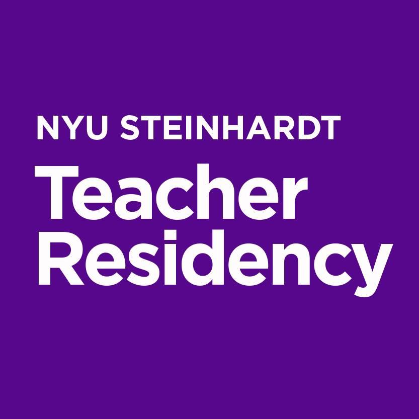 Logo of NYU Steinhardt Teacher Residency