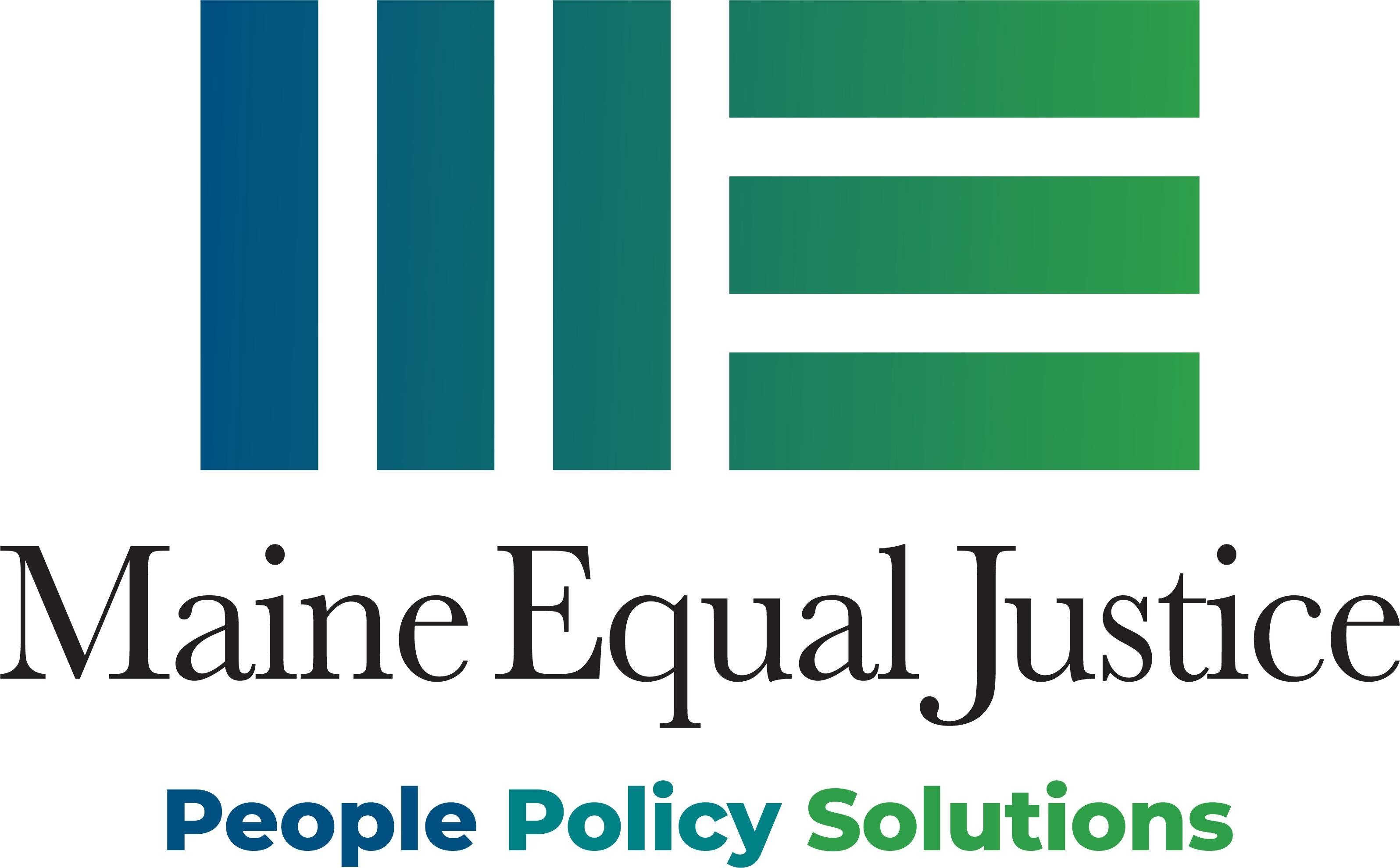 Logo of Maine Equal Justice