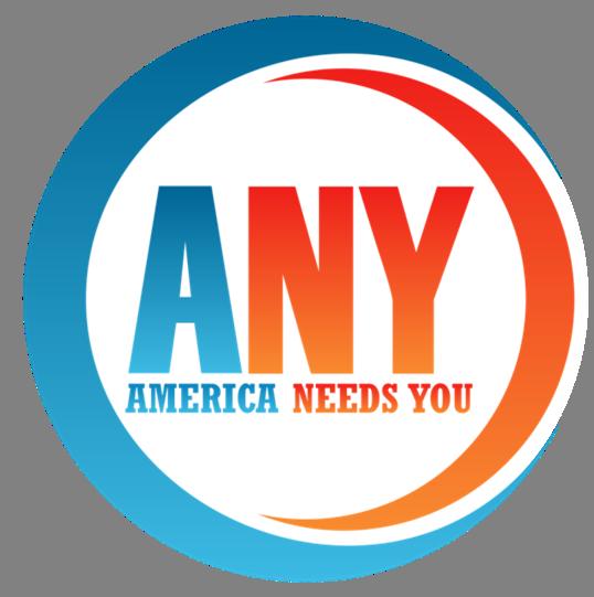 Logo de America Needs You