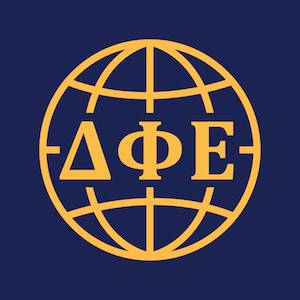 Logo of Delta Phi Epsilon Foreign Affairs Council