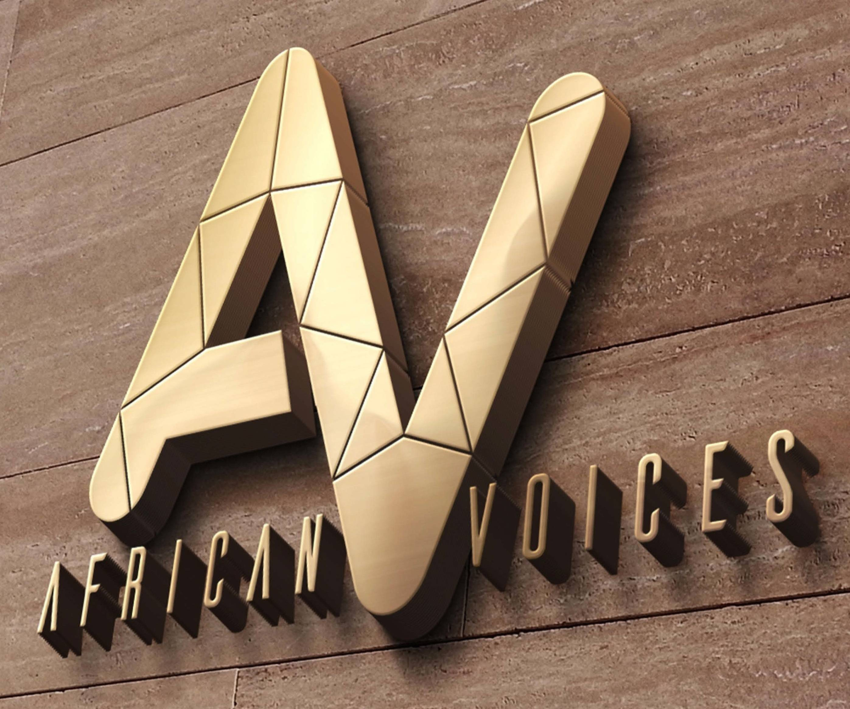 Logo of African Voices Communications, Inc.