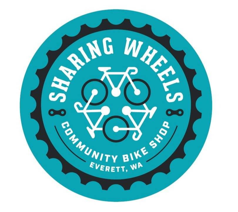 Logo of Sharing Wheels Community Bike Shop