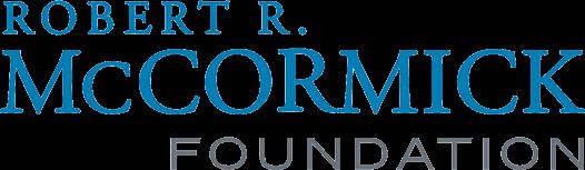Logo of Robert R. McCormick Foundation