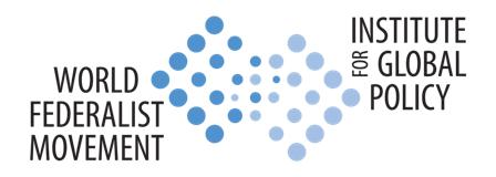 Logo of World Federalist Movement - Institute for Global Policy