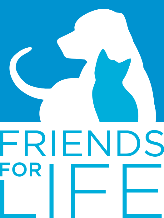 Logo of Friends For Life No Kill Animal Shelter