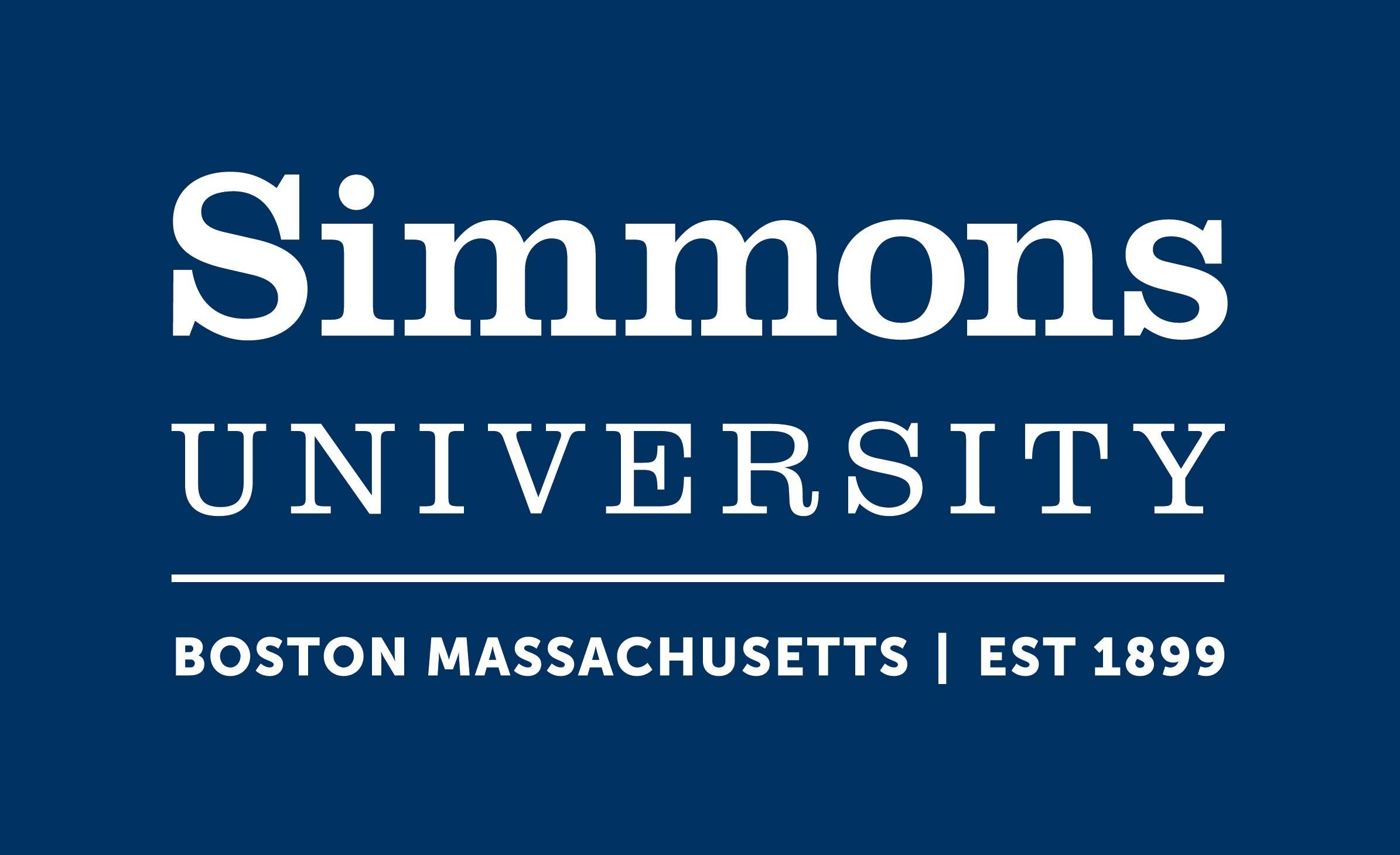 Logo of Simmons University- College of Natural, Behavioral, and Health Sciences