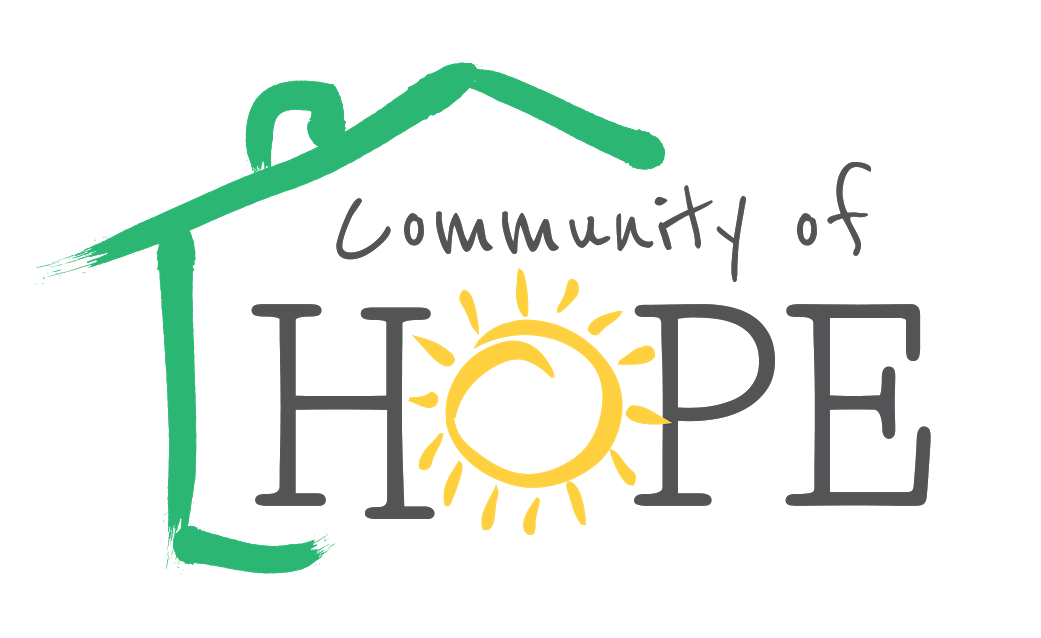 Logo of Community of Hope ,  a program of AllOne Community Services