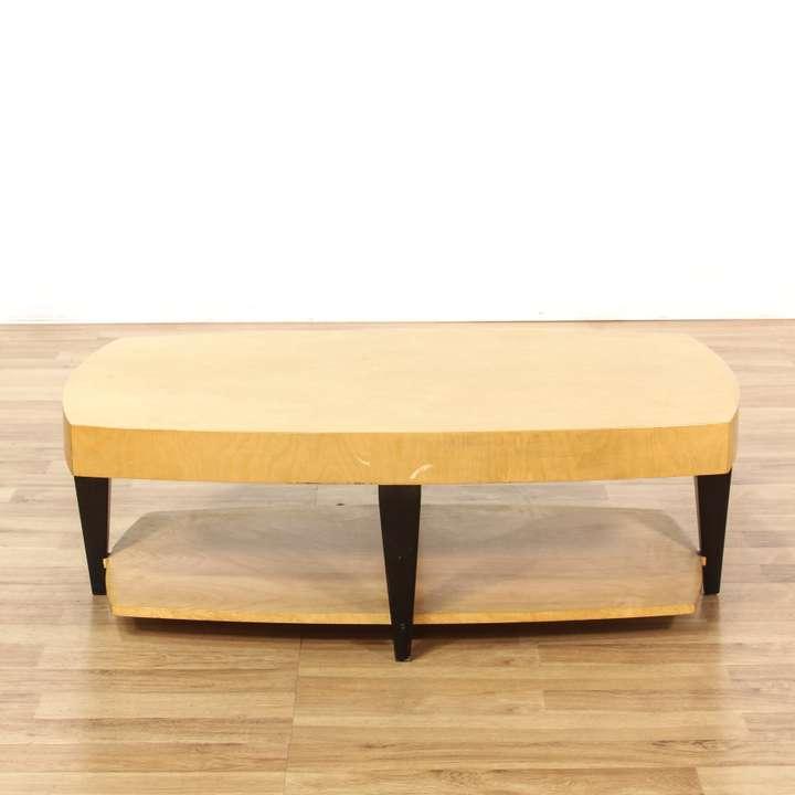 Rustic Monterey Style Coffee Table Loveseat Vintage Furniture San Diego Los Angeles