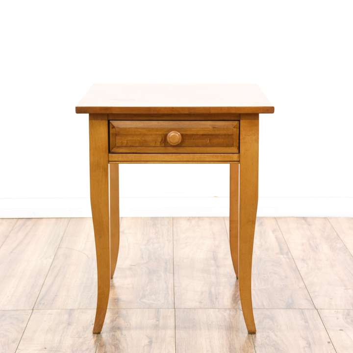 Refinish Ethan Allen Coffee Table: Asian Round Carved Ebonized Wood End Table