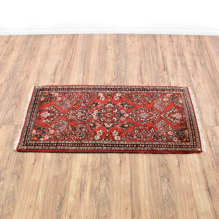 bohemian dark blue red medallion area rug loveseat vintage furniture san diego los angeles. Black Bedroom Furniture Sets. Home Design Ideas