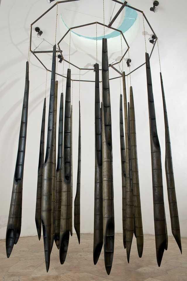 Bambusz szobrok, 2010
