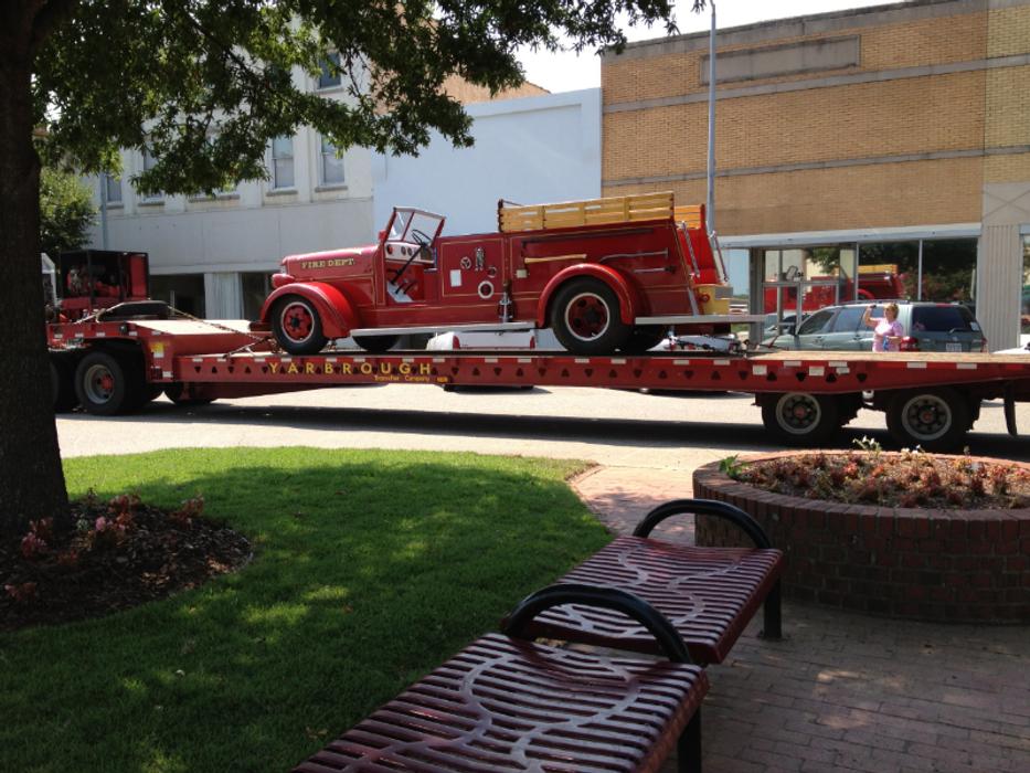 Firetruck Arriving at DPKR