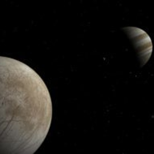 Europa Io And Jupiter Cr Guillermo Abramson
