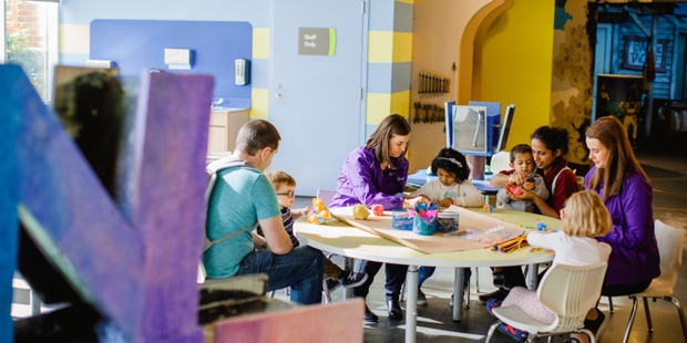 February Is All About Art At Discovery Place Kids Huntersville