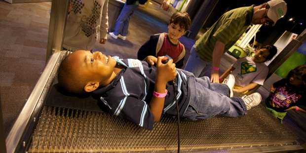 Discovery Place Science Bed Of Nails