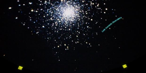 Planetarium Photos Star Cluster