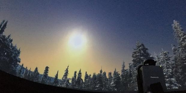 Planetarium Winter Sky