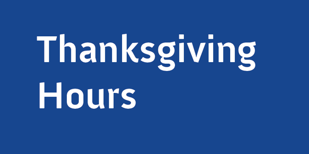 Thanksgiving Hours 01