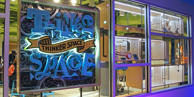 Thinkerspace Entrance Web
