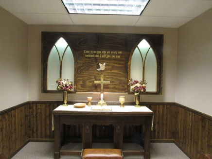 Mercy Unlimited Chapel built by Terry
