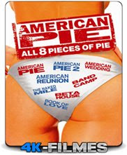 American Pie 1,2,3,4,5,6,7,8 – Coleção Todos os Filmes