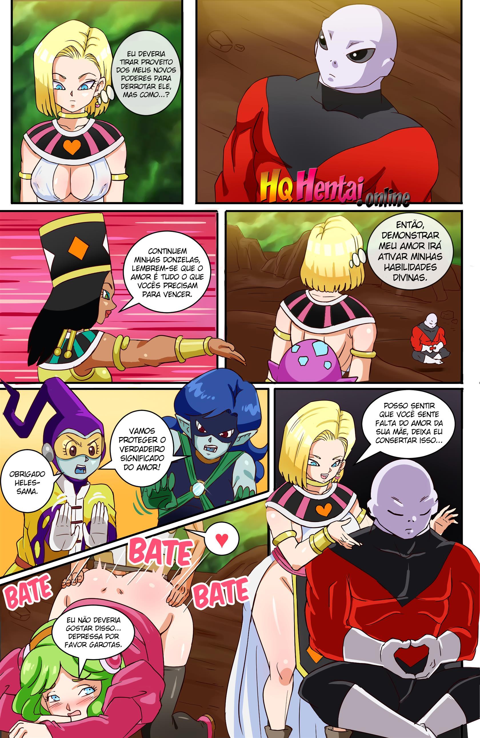 Andróide 18 – Dragon Ball Super Hentai