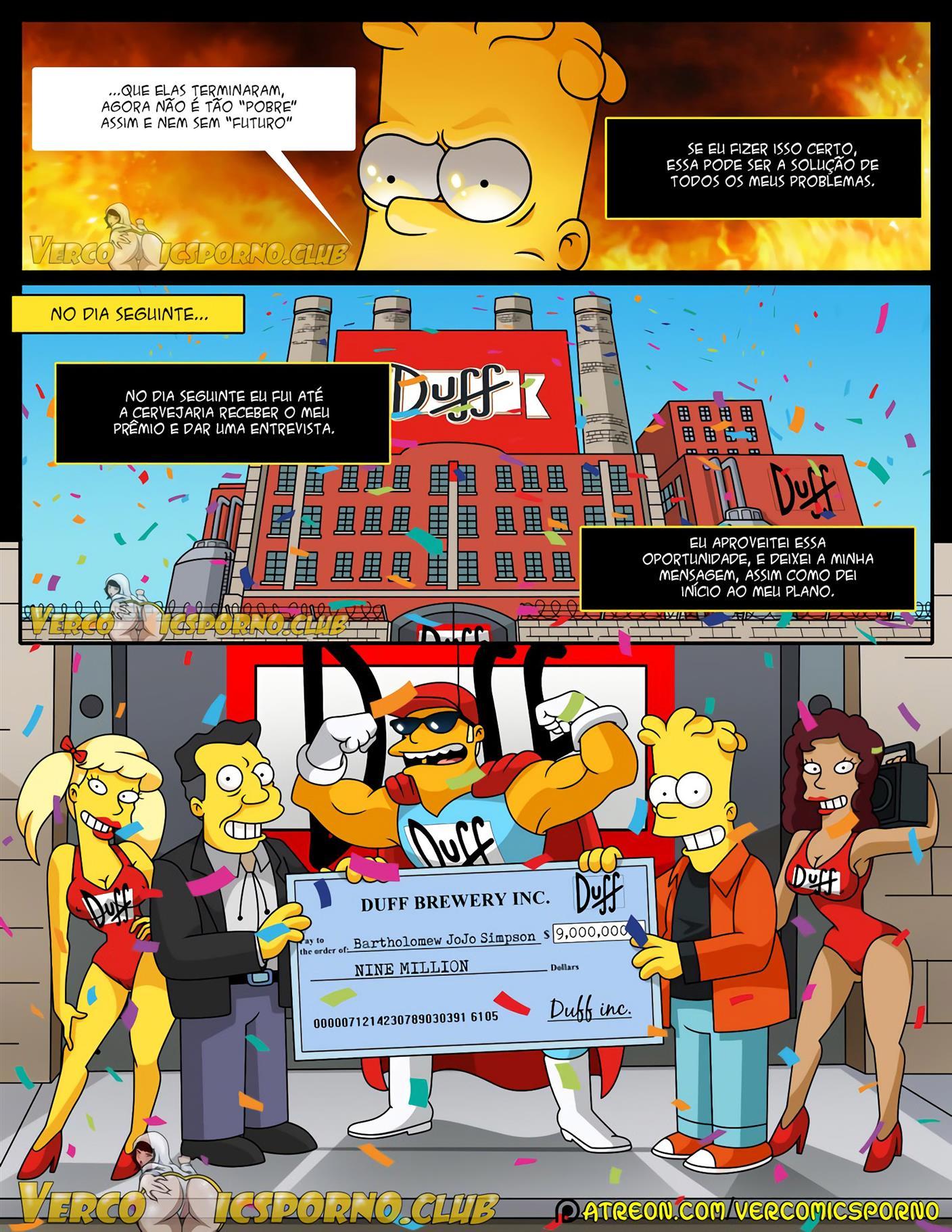 Bart e a Ex Putinha
