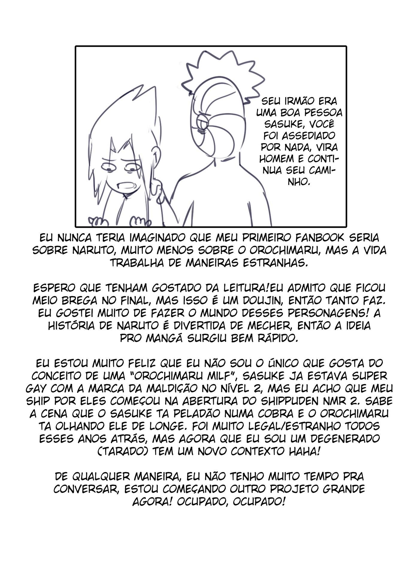 Sasuke e a Milf Orochimaru