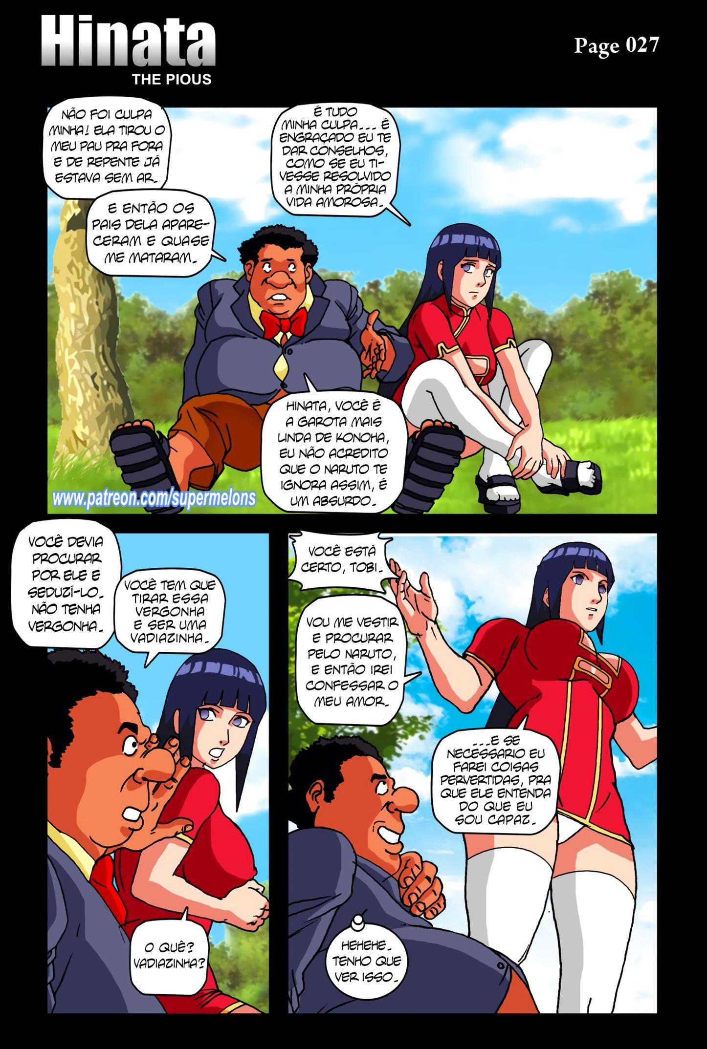 Hinata e o Gordinho Dotado