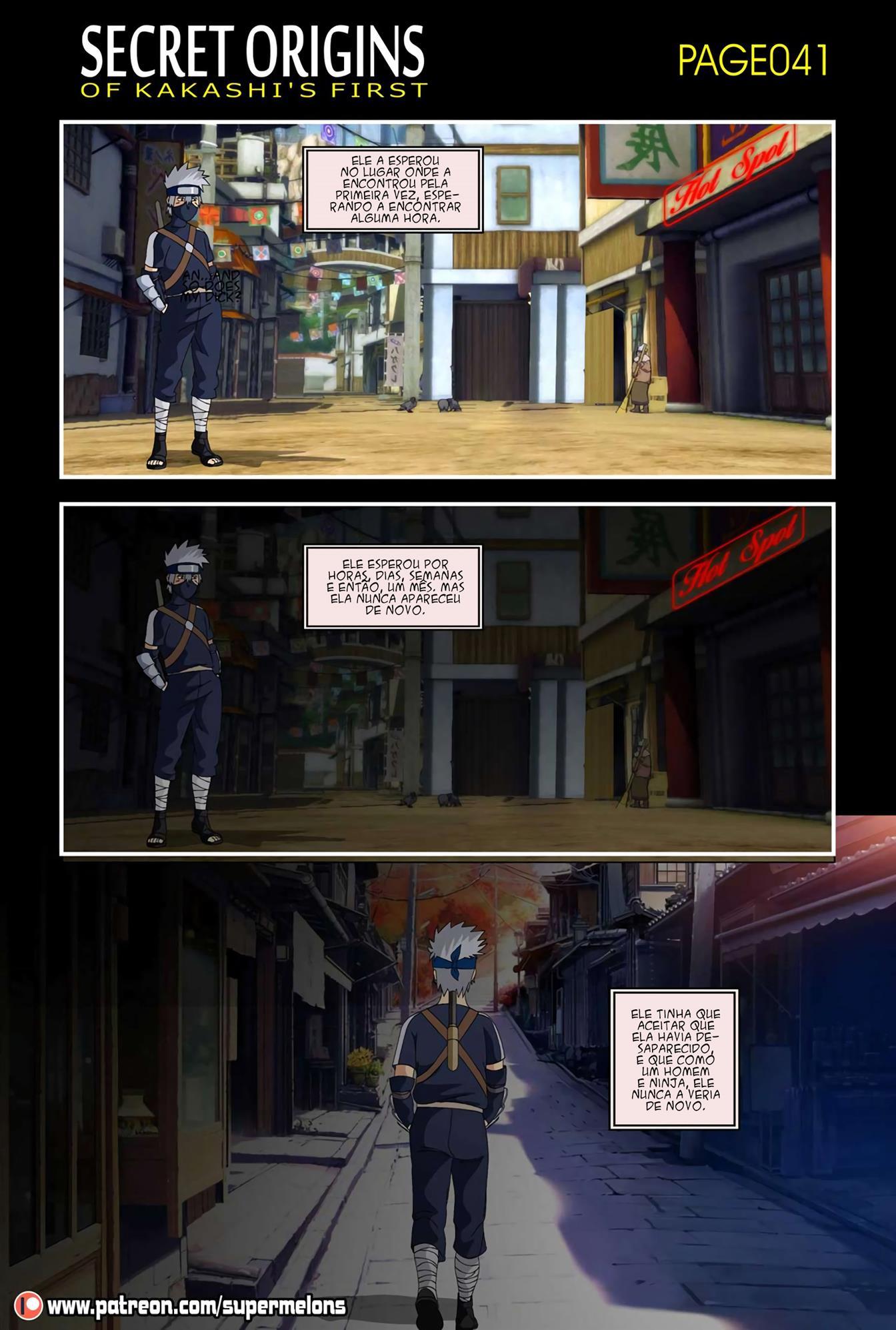 A primeira vez de Kakashi