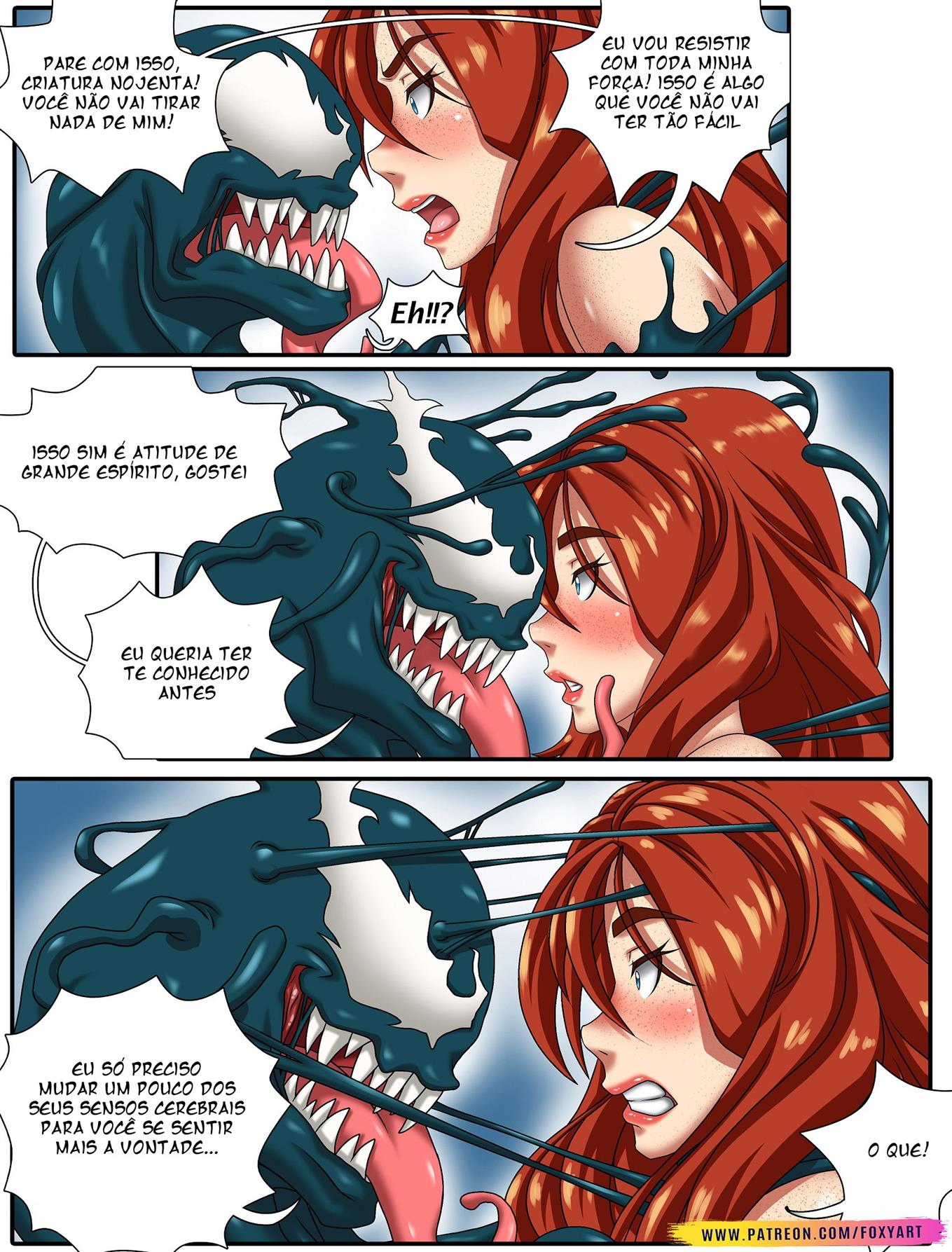 Mary Jane e Venom