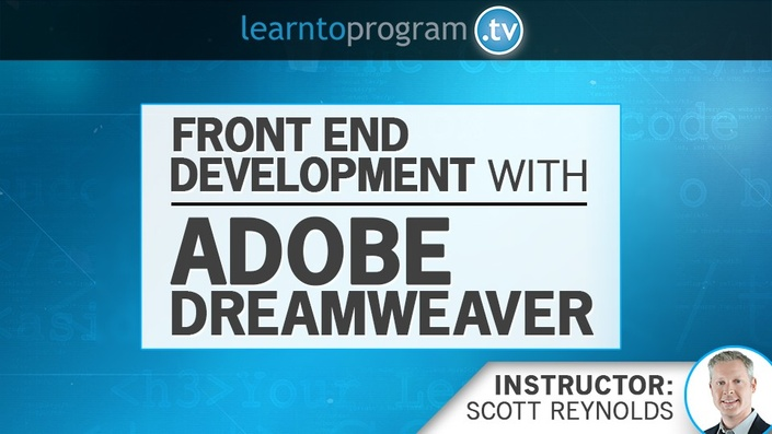 Pzgtmfwmqvyyjzbnaxar front%20end%20development%20with%20dreamweaver 960x540