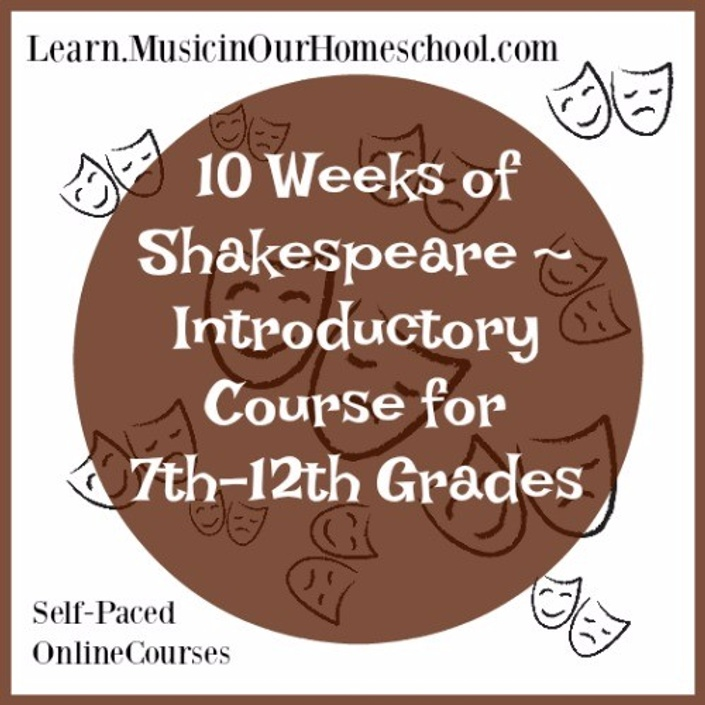 10 Weeks of Shakespeare - Introductory Course
