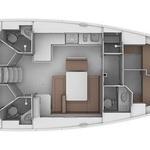 Bavaria cruiser 46, Sailboat