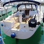 Hanse 350, Sailboat