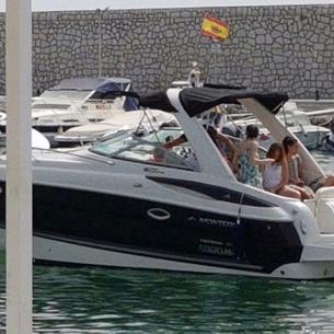 monterey 270 cruiser, Powerboat