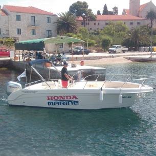 Saver 690 open, Powerboat