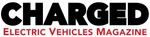 CHARGED Electric Vehicles Magazine's logo