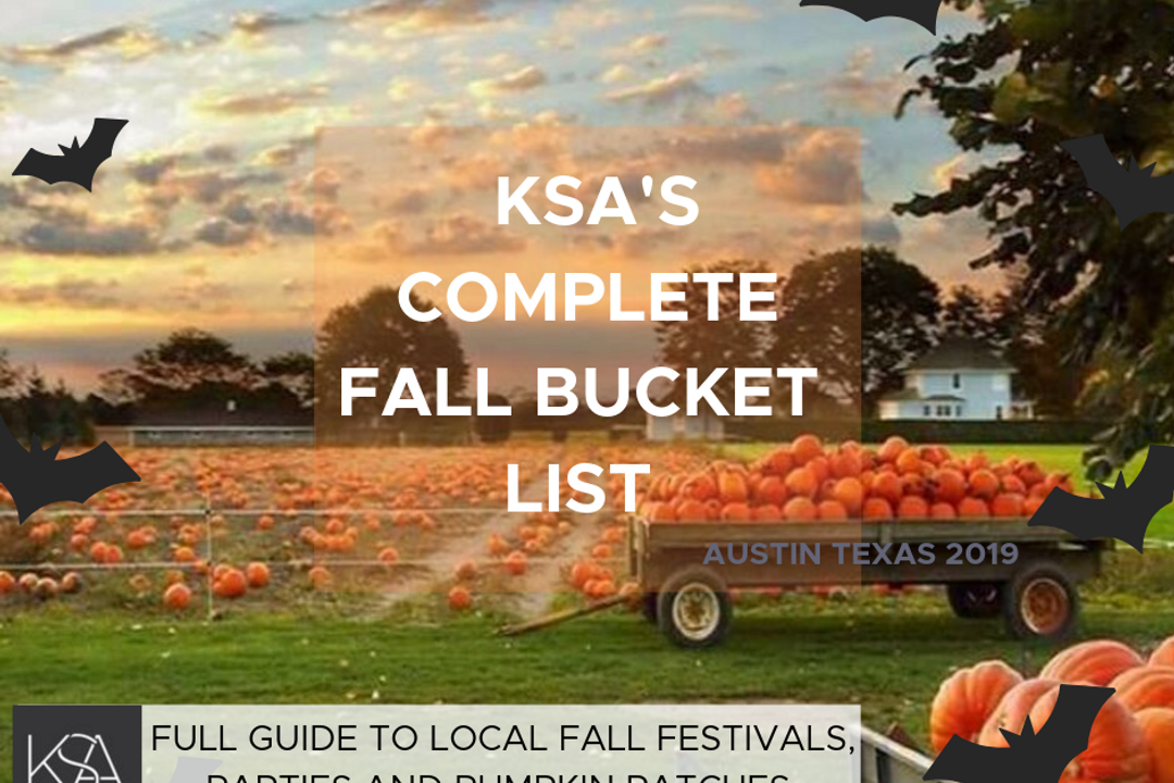 Experience Austin in the Fall!  2019 Guide to Austin's Best Pumpkin Patches, Date Nights,  and Family Fun!